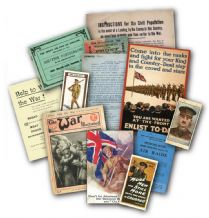 World War One Memorabilia Gift Pack